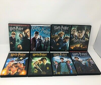 Harry Potter: Complete 8-Film Collection (DVD, 2011, 8-Disc Set) (A1)