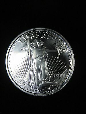 1 oz Pure Silver Bullion Eagle Liberty Round one Troy oz.999 pure fine mint coin