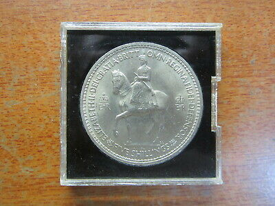 1953 Queen Elizabeth II Crown Five Shillings United Kingdom Great Britain