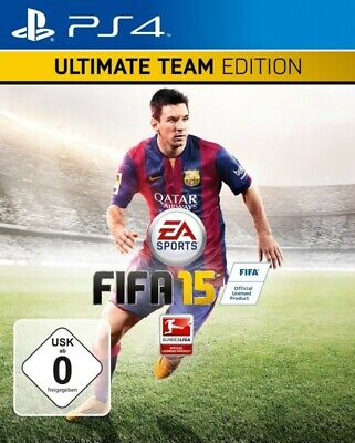 PS4  Sony Playstation 4 game FIFA 15 Ultimate Team Edition GER NEW + BOXED