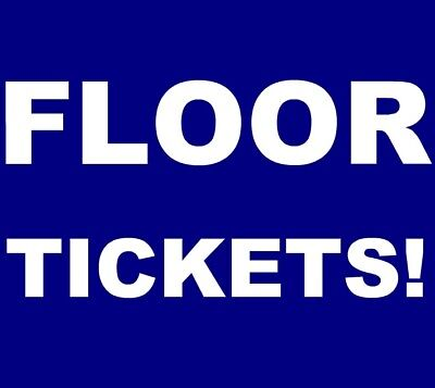 Death Cab For Cutie tickets New Haven College Street Music Hall 6/14 **FLOOR!**