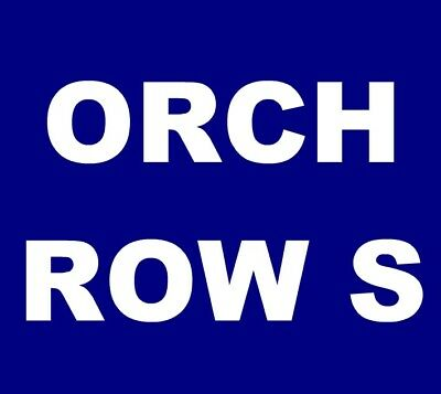 The Avett Brothers tickets Saint Louis Fabulous Fox Theatre St. 7/13 ORCH, ROW S