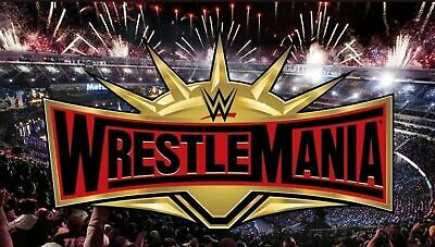 Wwe Wrestlemania 35 / 2 Tickets / Secton 118, Row 32 Seats 16 & 17