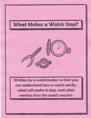 Why Your Watch Has Stopped - Book - CD
