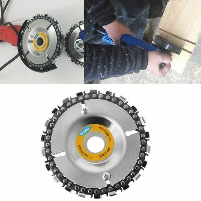Grinder Disc 22 Tooth Fine Chain Saw 4 Inch Angle Carving Culpting Wood Plastics
