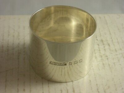 John Bull 1921 London made Silver Napkin Ring 30 grams great condition