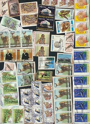°°° Lot N°3 Africa 30 Grams Kiloware With Recent Years °°°