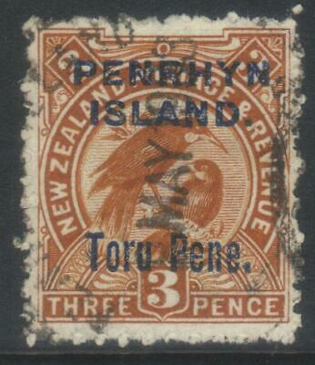 Penrhyn Island 1903 Surch Sg14 Used Cat £45
