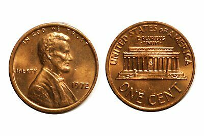 1972-P Lincoln Memorial Cent Double Die - Wexler #WDDO-017 Choice BU Red   #240
