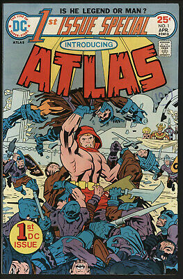 FIRST ISSUE SPECIAL #1 1st APPEARANCE ATLAS. JACK KIRBY COVER AND ART