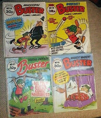 Buster Comic LIbraries (14, 18, 19, 27)