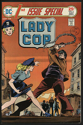 First Issue Special #4 Lady Cop. A Contraversial Comic