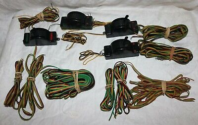 Vintage American Flyer Switch Controllers and Rainbow Wire Lot
