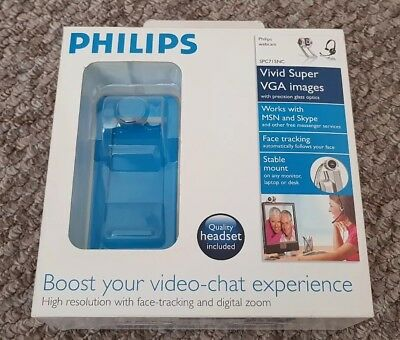 PHILIPS SPC715NC00 WEBCAM DRIVERS FOR WINDOWS DOWNLOAD