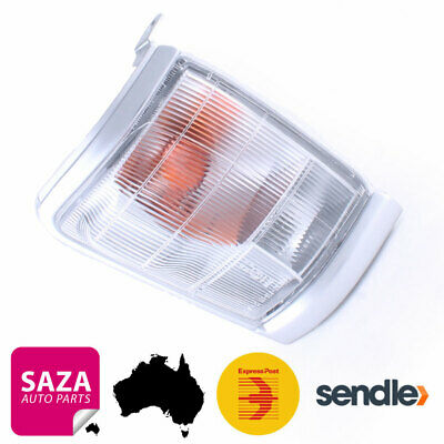 Right Front Silver Grey Edge Corner Indicator Light for Toyota Hilux 1997-2001