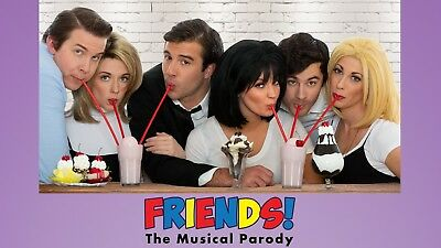 Friends! The Musical Parody In Las Vegas