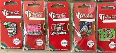 London 2012 Olympics Coca Cola Day Of The Games Day 8 Olympic Stadium Pin Badge