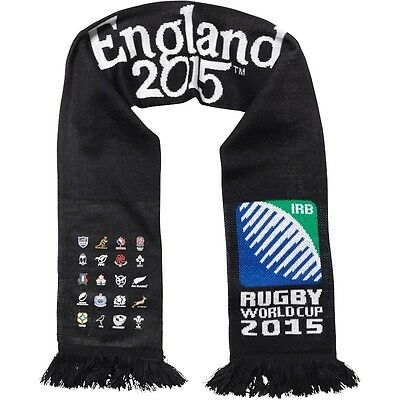 20 Nations Rugby Union RWC World Cup England 2015 Scarf Japan 2019