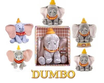 "New Official 12"" Disney Dumbo The Elephant Soft Plush Toy"