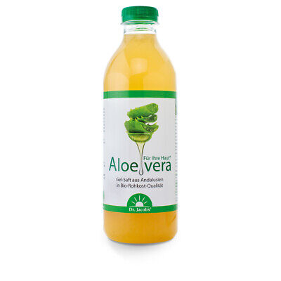 Aloe-vera-Gel-Saft - BIO - 1000 ml von Dr. Jacob's