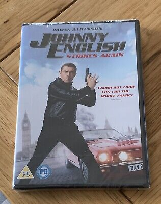 Johnny English Strikes Again (DVD) Brand New Sealed