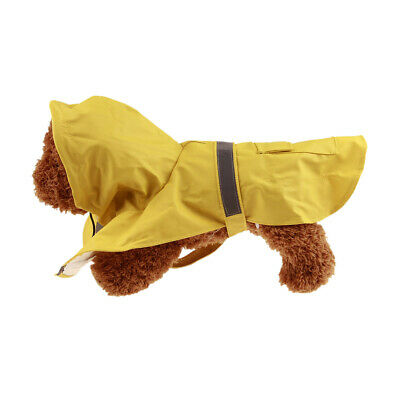 Waterproof Dog Raincoat with Reflective Jacket Comfortable Pet Clothes PS350
