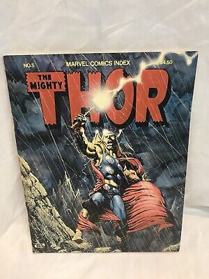 *1976 Marvel Comic Index Issue 5 The Might Thor