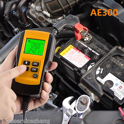 Digital 12V Car Battery Tester Automotive Battery Load Tester And Analyzer AE300