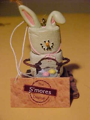 S/'MORES EASTER CHICK ORNAMENT GRAHAM CRACKER MARSHMALLOW CHOCOLATE MIDWEST MCF