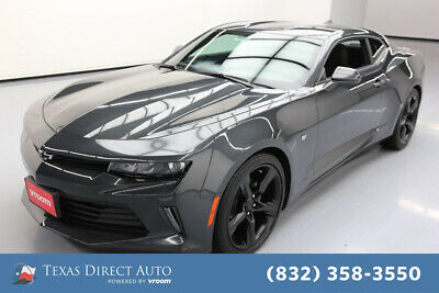 2018 Chevrolet Camaro LT Texas Direct Auto 2018 LT Used Turbo 2L I4 16V Automatic RWD Coupe OnStar