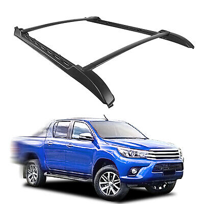 For 2005-2018 Toyota Tacoma Double Cab Factory Roof Rack Cross Bars Set TT