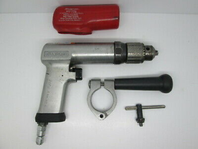 "Snap On PDR5A 1/2"" Reversible Pneumatic Air Drill with Side Handle"