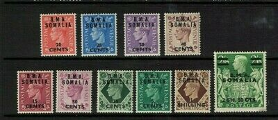 Somalia stamps - British occupation issues george vi - mint Lh 1948>> part set