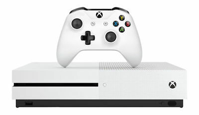 Microsoft Xbox One S 1TB White Home Console WITH RED DEAD REDEMPTION 2