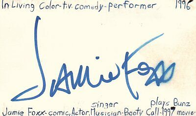 Romantic John Leguizamo Colombian Actor The Pest 1997 Movie Autographed Signed Index Card Cards & Papers