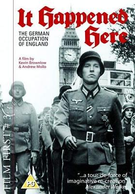 IT HAPPENED HERE (1965) UK R2 DVD (Controversial 'What-If' WWII Docudrama)