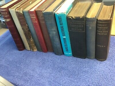 Job Lot of Vintage / Antique Books x 11 items  Lot 13