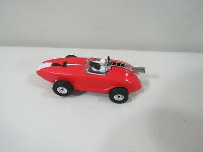 Aurora Xlerator Red Racing Slot Car