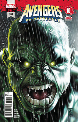 Avengers 684 A 1st printing No Surrender first appearance Immortal Hulk 1st