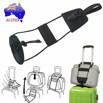 Travel Luggage Suitcase Adjustable Tape Belt Add A Bag Strap Carry On Bungee UA