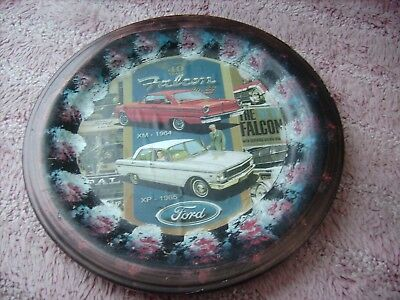 Ford Falcon  Xm 1964  Xp 1965      On A Decoupage  Plate