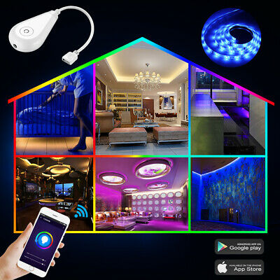 RGB LED Light Strip Wifi Controller Smart Life APP Intelligent Remote Controller