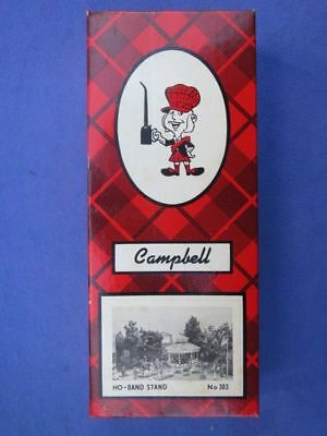 Band Stand Campbell HO Scale Model Kit NOS Train Railroad