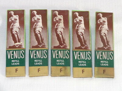 5 Complete Boxes of Vintage ~ VENUS ~ Refill Leads for Pencils