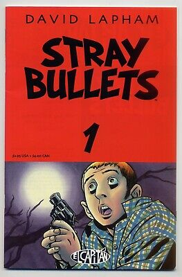 Stray Bullets #1 1st Printing NM 9.4 Tough 1st print and a gorgeous copy