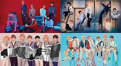Official BTS Love Yourself 結 Answer S,E,L,F Poster Set (UNFOLDED, original tube)