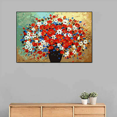DIY Unframed Art Canvas Oil Painting Picture  Modern Print Wall Home Decor