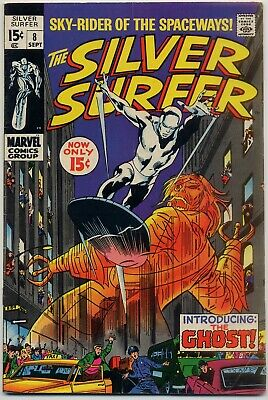 Silver Surfer #8 FN- 5.5 1st appearance The Ghost, Mephisto appearance