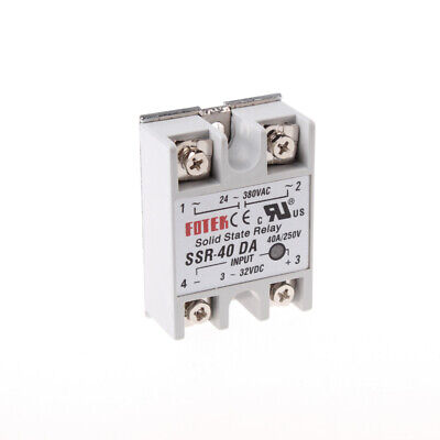 1PC 24V-380V SSR-40DA 40A Solid State Relay for PID Temperature Controller Stock