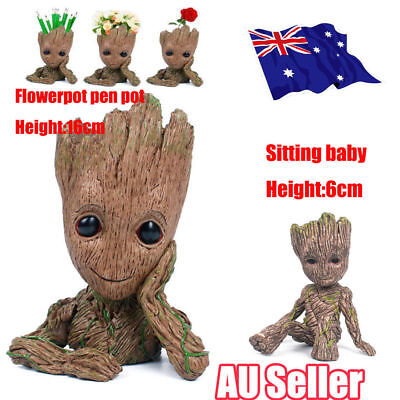 Guardians of The Galaxy Baby Groot Figure Flowerpot Pen Pot Toy Party Gifts L3